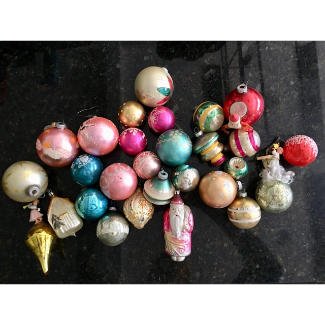 Vintage Assorted Glass Ornaments - Set of 28 - Image 6 of 6