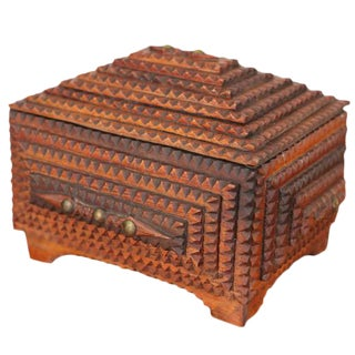 Tramp Art Keepsake Box