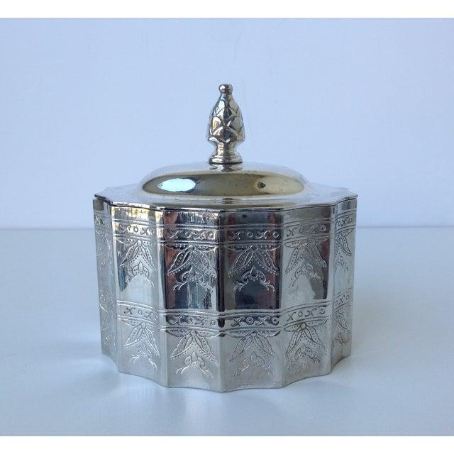 Silverplate Moorish Lidded Keepsake Box - Image 2 of 9
