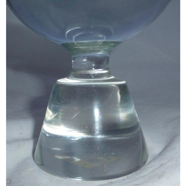 Mid-Century Modern Murano Glass Crystal Ball - Image 3 of 7