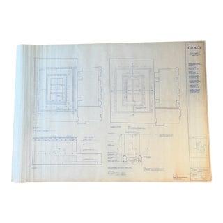 NYC Grace Church Blueprint