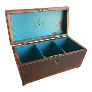 Antique Walnut Burl Box