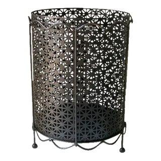 Mid-Century Metal Waste Basket