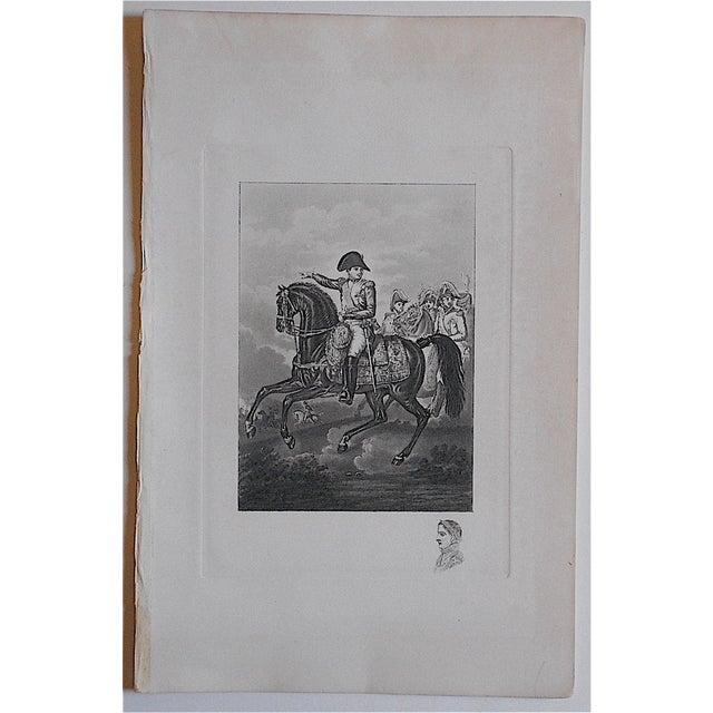 Napoleon-Antique Engraving - Image 2 of 3