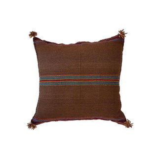 Peruvian Manta Textile Pillow