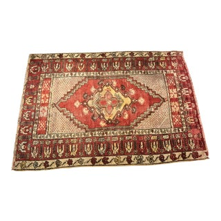 "Bellwether Rugs Distressed Vintage Turkish Oushak Rug - 3'2""x4'7"""