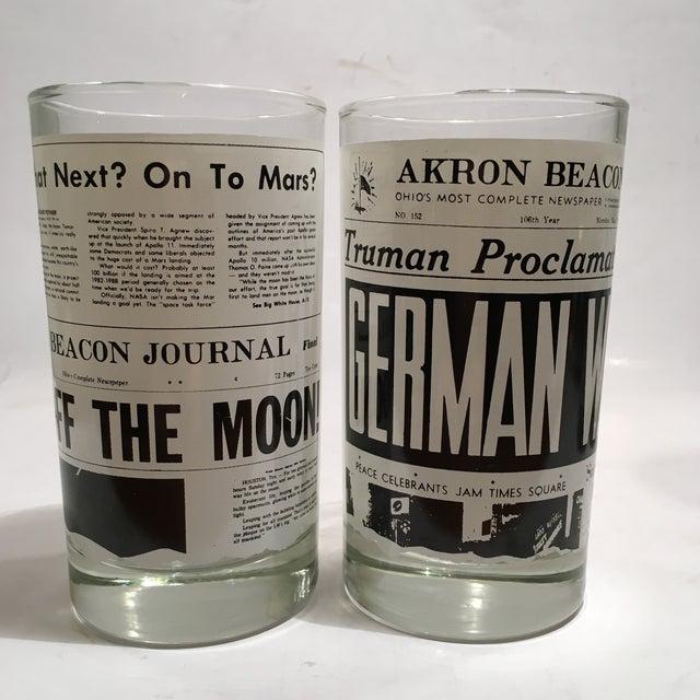 Image of Libbey Newspaper Headline Tumblers - Set of 6