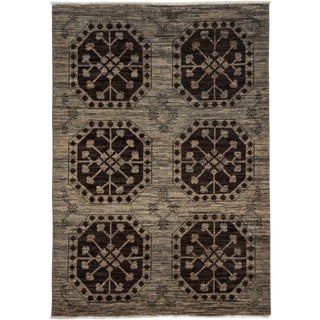 """Ziegler, Hand Knotted Area Rug - 4' 1"""" x 6' 0"""""""