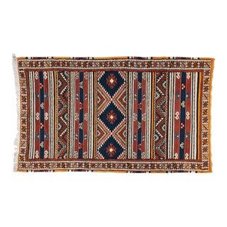Hand Woven Moroccan Berber Rug - 2′11″ × 6′3″