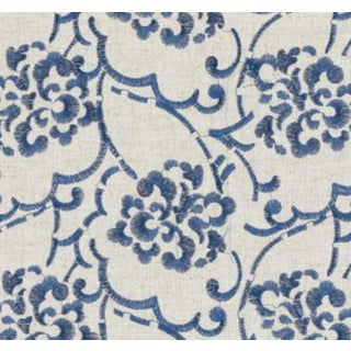 Floral Embroidery Fabric - 5 Yards