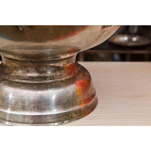 Massive Silverplate Champagne Server - Image 7 of 7