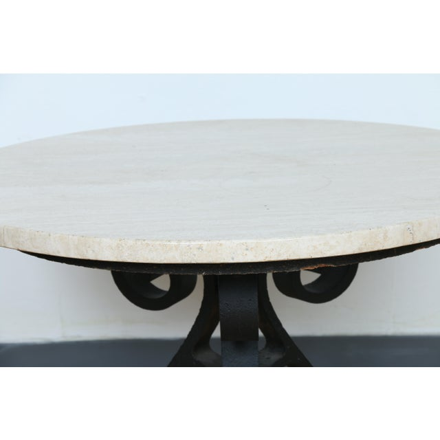 Wrought Iron Small Side Table - Image 8 of 11