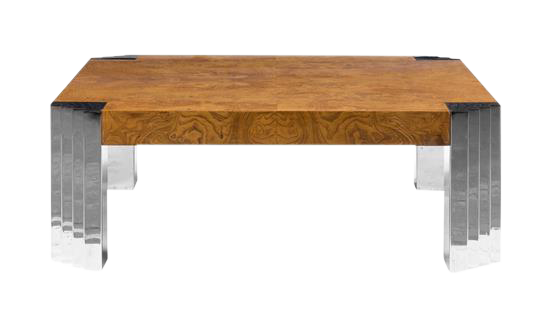 vintage & used burlwood coffee tables | chairish