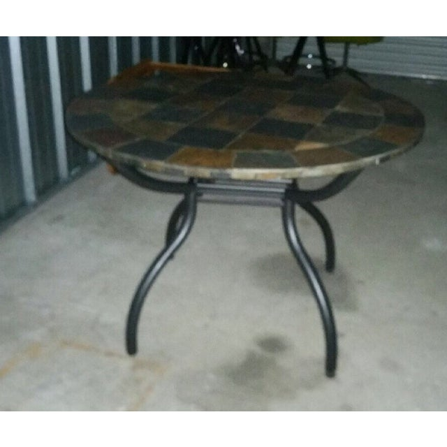 Slate Stone Dining Table - Image 2 of 3