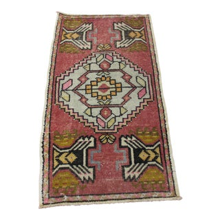 Turkish Small Rug - 1′10″ × 3′4″
