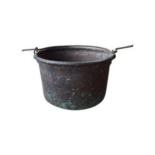 Large Tuscan Antique Cooking Pot