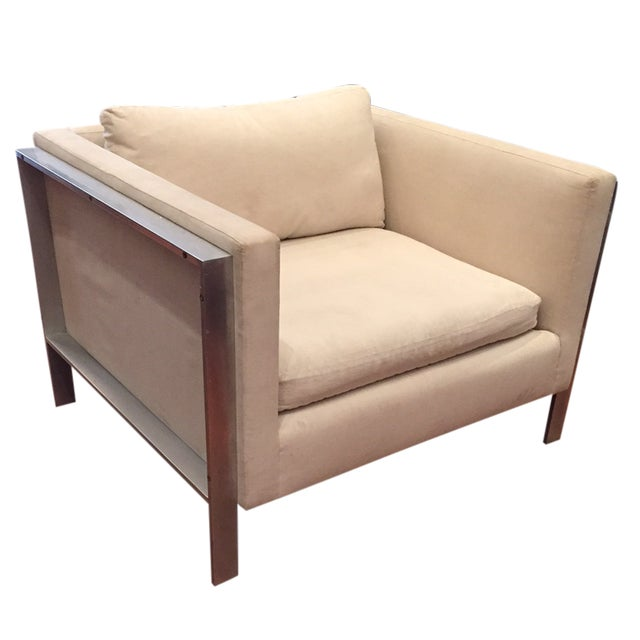 Image of 1980s Wall Street Office Lounge Chair