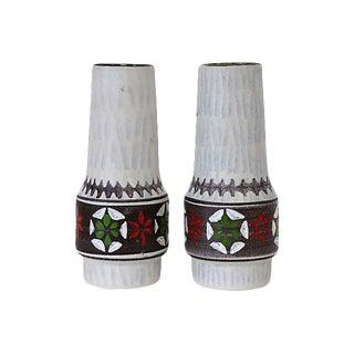 Mid-Century German Ceramic Vases - A Pair