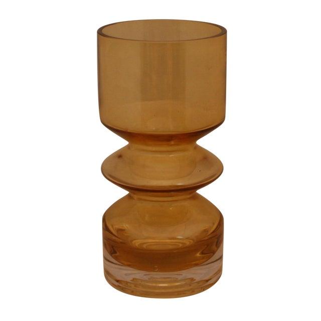MCM Riihimaen Lasi Finland Art Glass Vase - Image 1 of 6