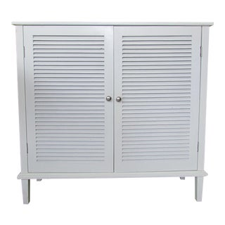 White Shutter Door Sideboard