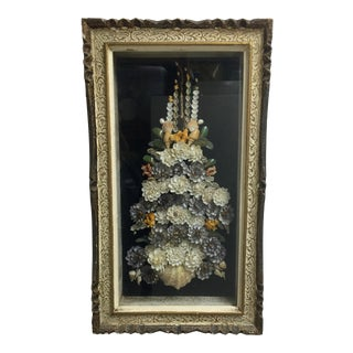 Shell Floral Wall Art