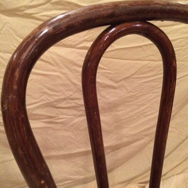 Vintage Thonet Bentwood Cafe Chair - Image 4 of 8