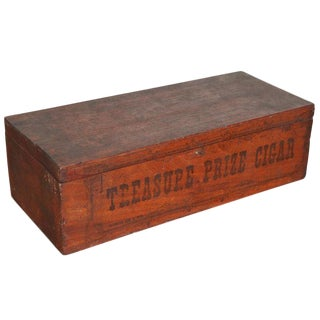 Antique Retail Cigar Box