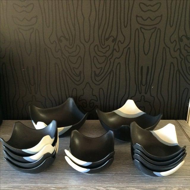 Ceramic Bowl Set - Set of 12 - Image 3 of 10