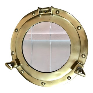 Brass & Mirror Decorative Porthole