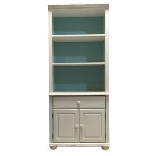 Beach Style Bookcase With Cabinet