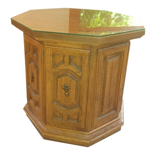 Thomasville Octagon End Table
