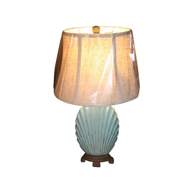 Scallop Seashell Lamp - Image 1 of 7