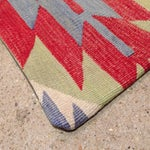 Image of Vintage Kilim Pillow in Red