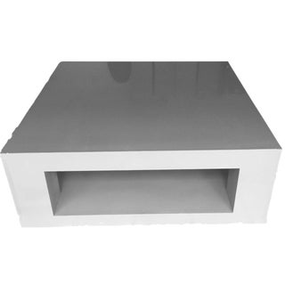 Custom Designer Parsons Coffee Table