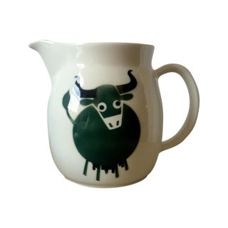 Arabia Ceramic Pitcher Designed by Kaj Frank