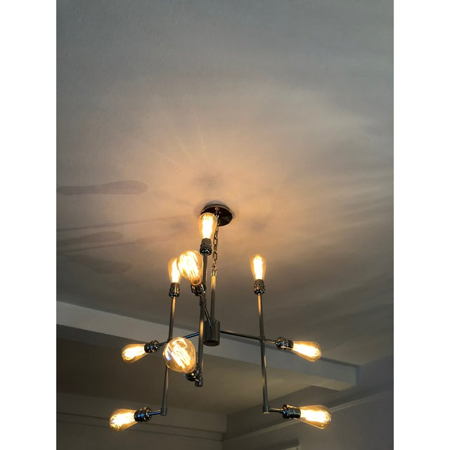 Restoration Hardware Varick Chandelier - Image 2 of 4