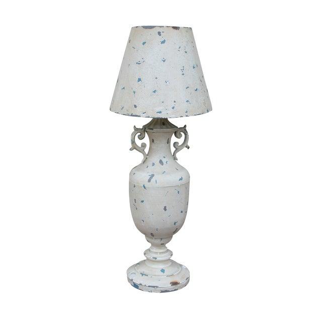 Cream Metal Nostalgia Primitive Table Lamp - Image 1 of 5