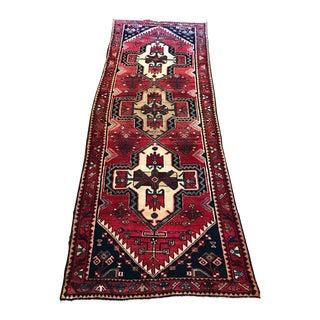 Vintage Persian Runner - 3′4″ × 9′5″