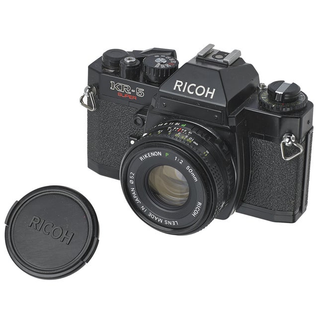 Vintage Ricoh KR-5 35mm Camera - Image 1 of 2