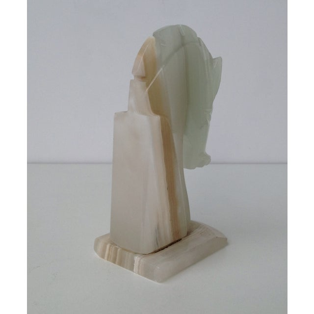 Vintage Onyx Trojan Horse Bookend - Image 8 of 9