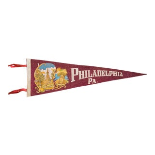 Philadelphia PA Felt Flag
