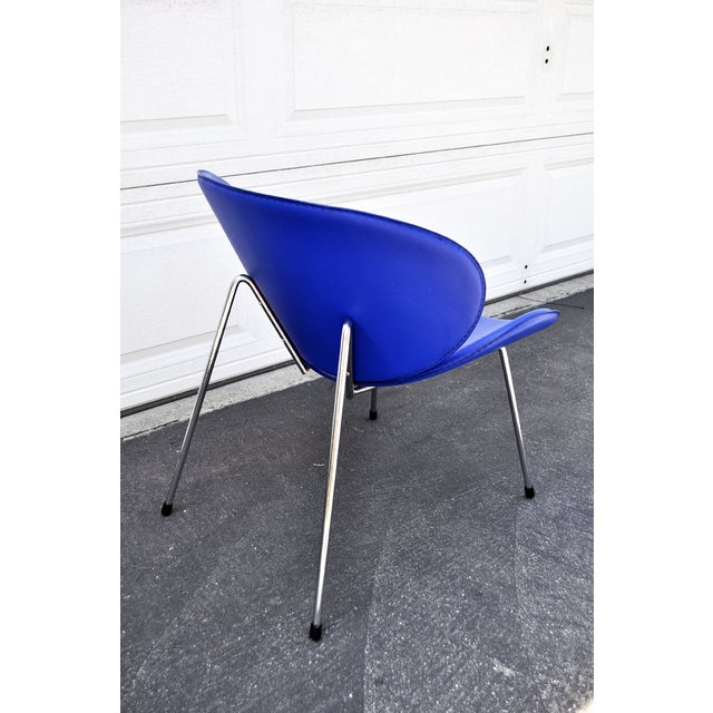 Blue Slice Chair - Image 4 of 4