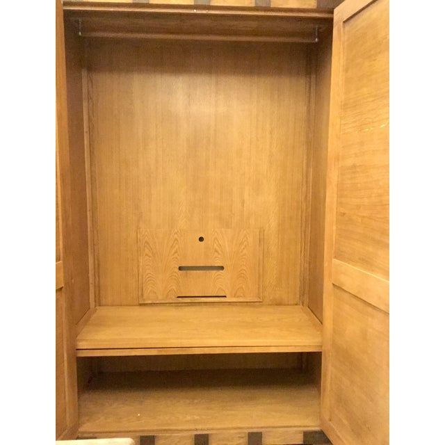 Solid Wood Armoire - Image 4 of 7