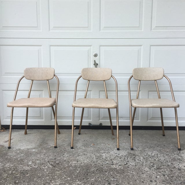 Mid-Century Stylaire Folding Chair - Set of 3 - Image 4 of 11