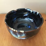 Image of Vintage Ceramic Handmade Bowl
