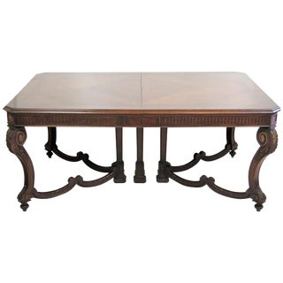 Regency Style Inlaid Dining Table