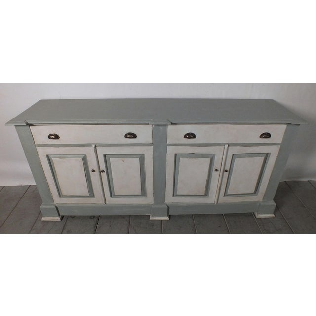 1970's French Country Painted Buffet - Image 3 of 10