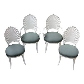 Shell Back Chairs - Set of 4