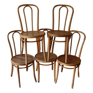 Thonet Cafe Chairs - Set of 5