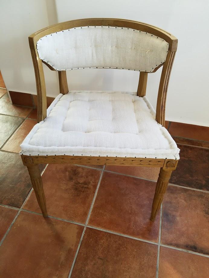 restoration hardware swedish demilune dining chairs 6 image 3 of 6